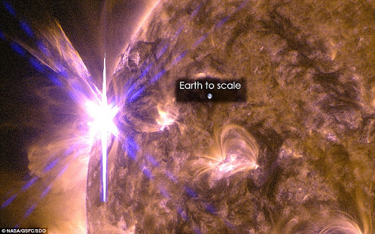 NASA Kelpler mission reveals that huge solar flares sparked the creation of DNA molecules leading for life on Earth