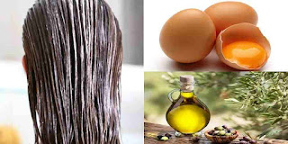 Masque capillaire aux œufs et à l'huile d'olive pour des cheveux époustouflants !
