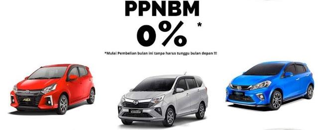 Pajak Mobil nol persen tahun 2021