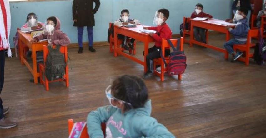 UNICEF: La reapertura de las escuelas debe ser progresiva y flexible