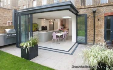 Dapur Basah Di Luar Rumah Desainrumahid Com 50 Outdoor Desain Menyatu Dengan Taman Belakang