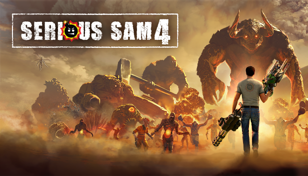 SERIOUS SAM 4 OBLITERATES NORMALITY ON SEPT. 24