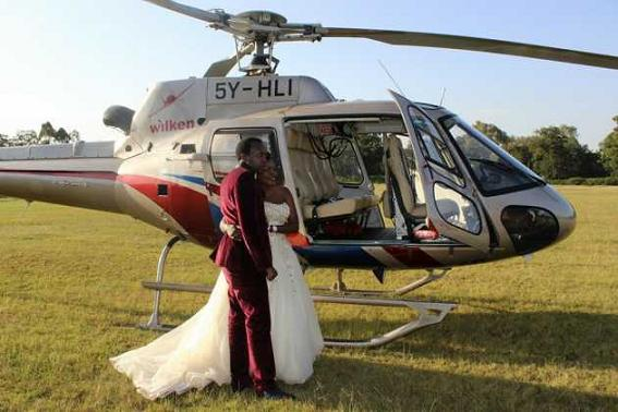 the most expensive wedding kenya