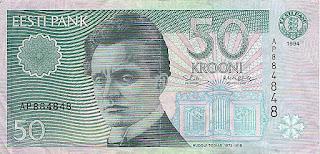 50 эстонских крон