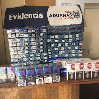 Descubren contrabando de cigarrillos a Chile