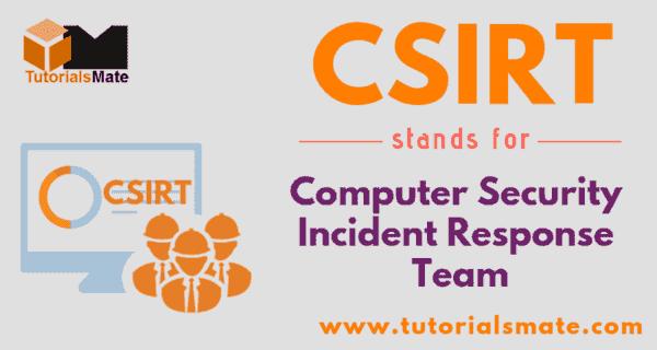 CSIRT Full Form