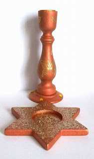 chandelier de table pour les fêtes de noel