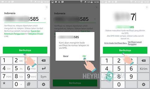 Cara Mengubah Nomor Telepon Line Tanpa Menghapus Akun