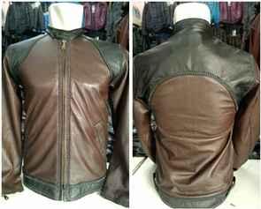 real pic desain jaket kulit kang mus preman pensiun