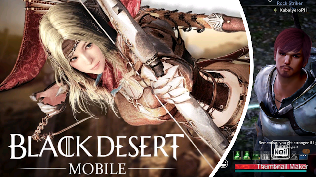Tutorial And Early Starting Quests! Black Desert Mobile Gameplay