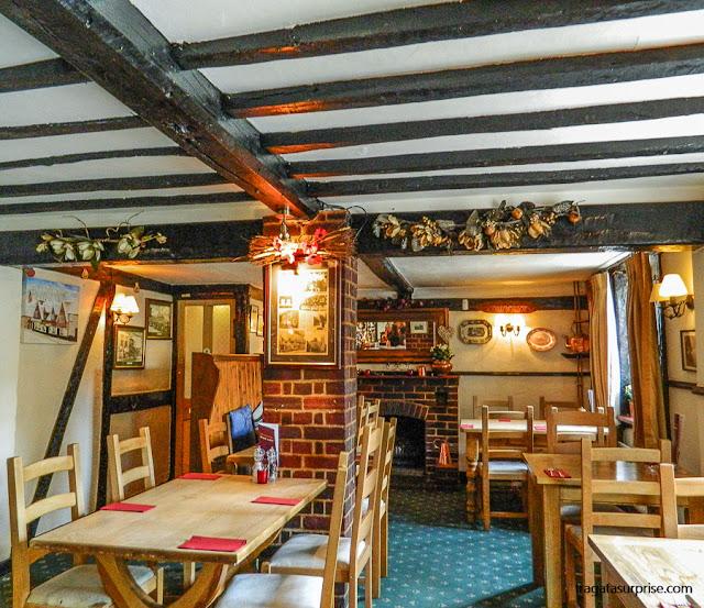 Onde comer em Chawton, The Greyfriar Pub