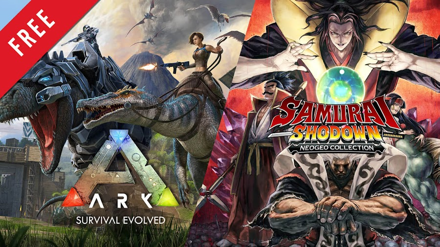 ark survival evolved samurai shodown neogeo collection free pc epic games store action-adventure survival studio wildcard sword fighting snk 2020