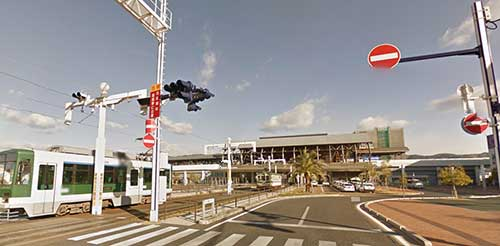 Kochi Station, Shikoku.