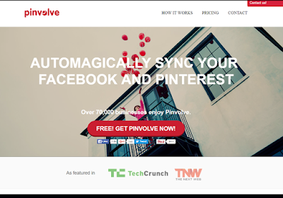 Pinvolve arranges your content in a Pinterest-like format