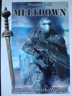 Portada del libro Prisioner 3-57: Meltdown, de Simon Smith-Wilson