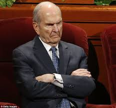 Image result for angry Russell M. Nelson