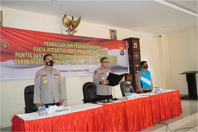 57 Anggota Polda Maluku Ikut Seleksi Pendidikan Alih Golongan (PAG) Tahun 2021..lelemuku.com.jpg