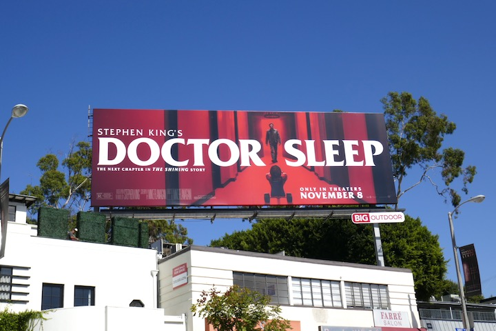 Doctor Sleep film billboard