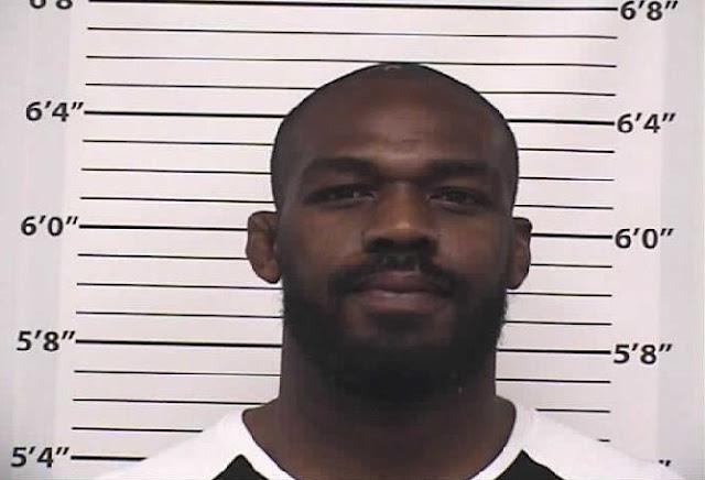 Jon Jones Arrest