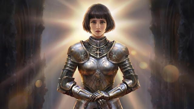 Papel de Parede Joana d'Arc, Joana dArc, hd, 4k.