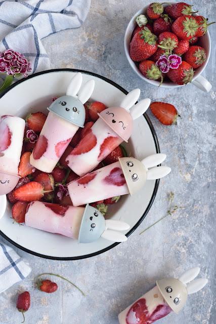 Мороженое из детских творожков