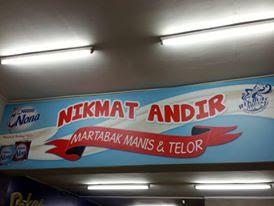 Martabak Andir Manis & Telor Bandung