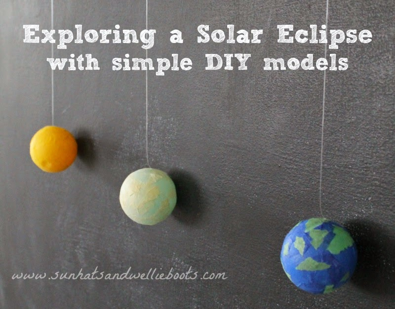 7eb784786cb3 Here s a simple way to explore the solar eclipse with young children. These  models of the sun