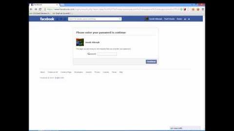 Facebook Password Reset Vulnerability