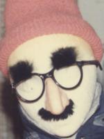 Groucho Marx Glasses on a dummy