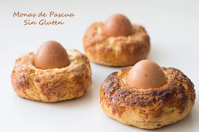 Monas de Pascua #SinGluten / Eva en Pruebas