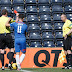 Referee gives linesman red card (PHOTOS)