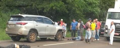 Iretama: Jovem perde a vida em acidente na rodovia BR-487