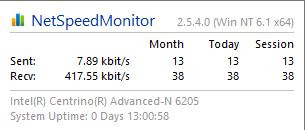 net speed monitor, net speed win10, net speed monitor win 8, net speed monitor windows