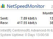 Net Speed Monitor 2.5.4.0 Semua Windows 64bit Gratis