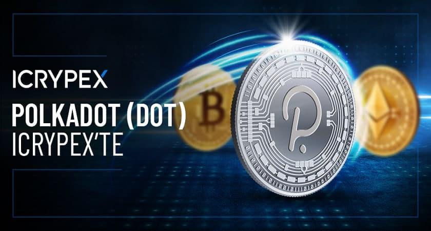 Polkadot (DOT), ICRYPEX'te Listelendi
