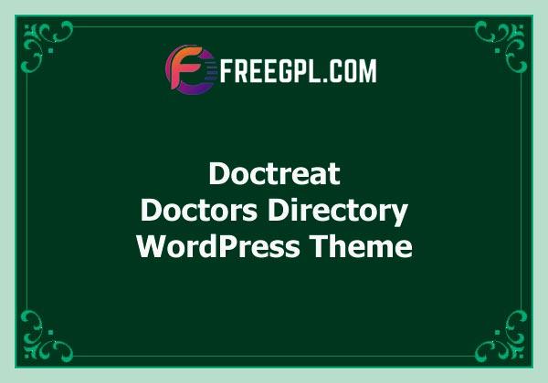 Doctreat - Doctors Directory WordPress Theme Free Download