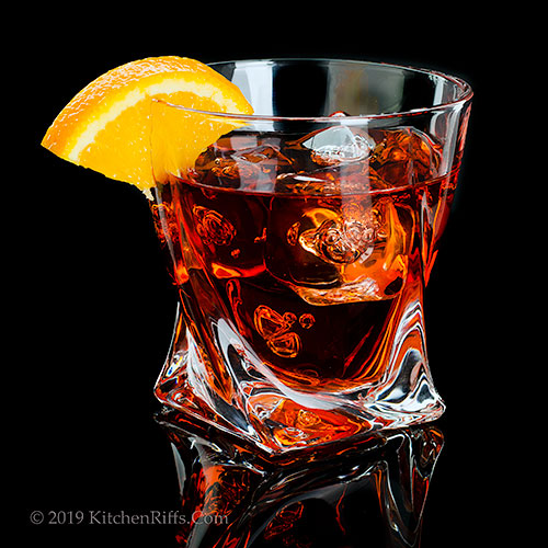 The Mezcal Negroni Cocktail