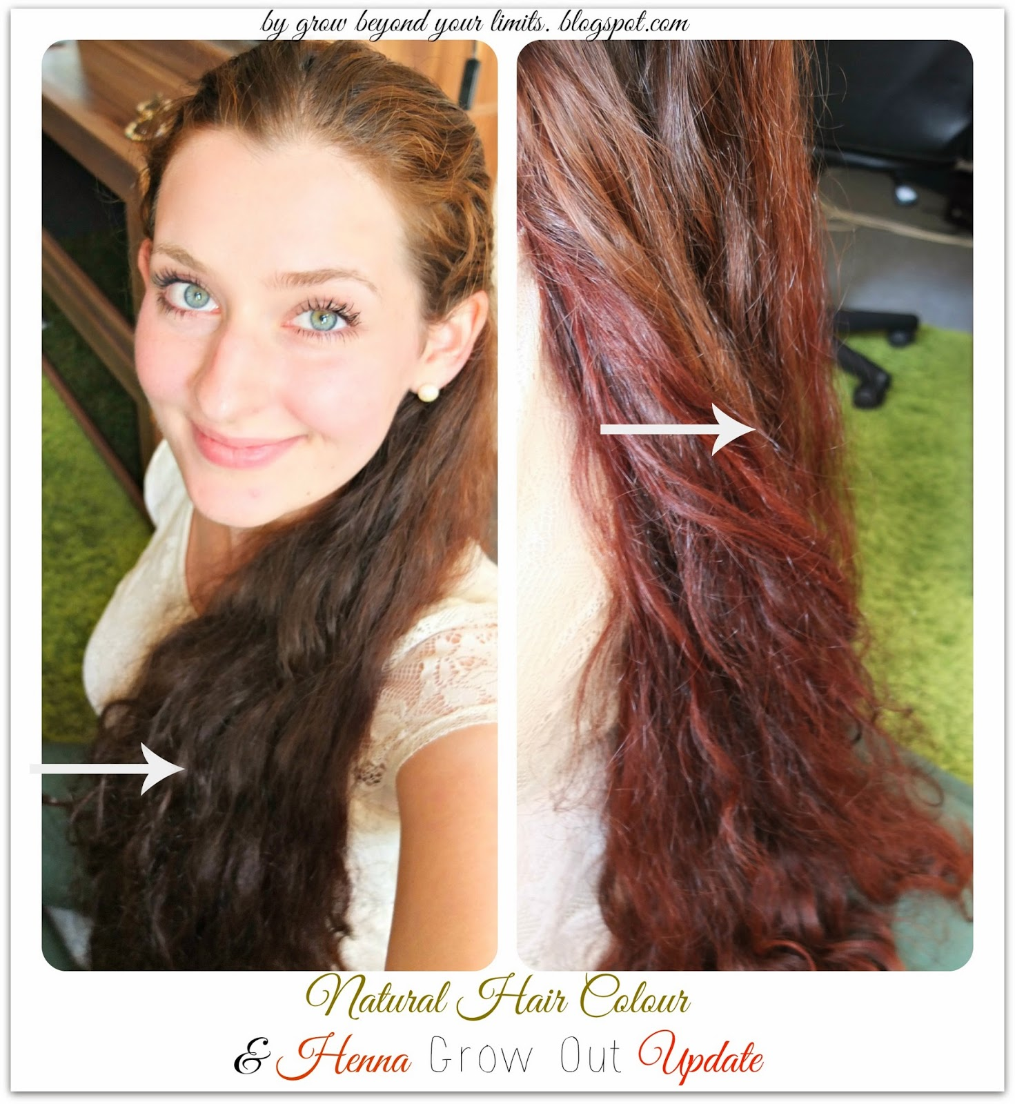 Natural Hair Colour Update Growing Out Henna