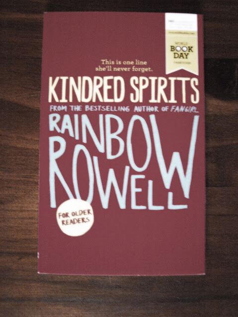 Kindred Spirits Rainbow Rowell