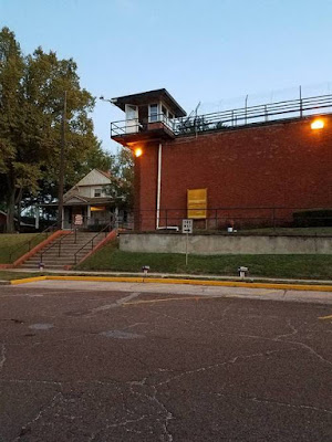 The Walls Unit, Huntsville, where Texas carries out its executions.