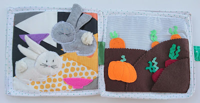 Softbook for babies handmade