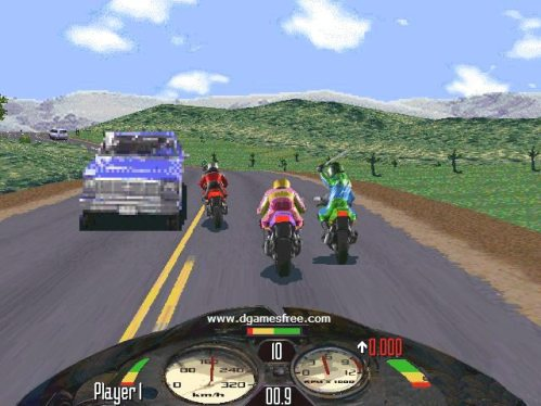 Nostalgia Game Road Rash 1996 Tinju dan tendang
