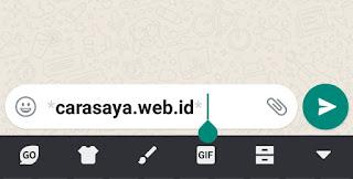 Cara Membuat Tulisan Tebal, Miring, Dicoret Di WhatsApp