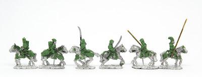 Mounted Samurai - Longbow x 2 / Naginata x 2 / Yari x 2