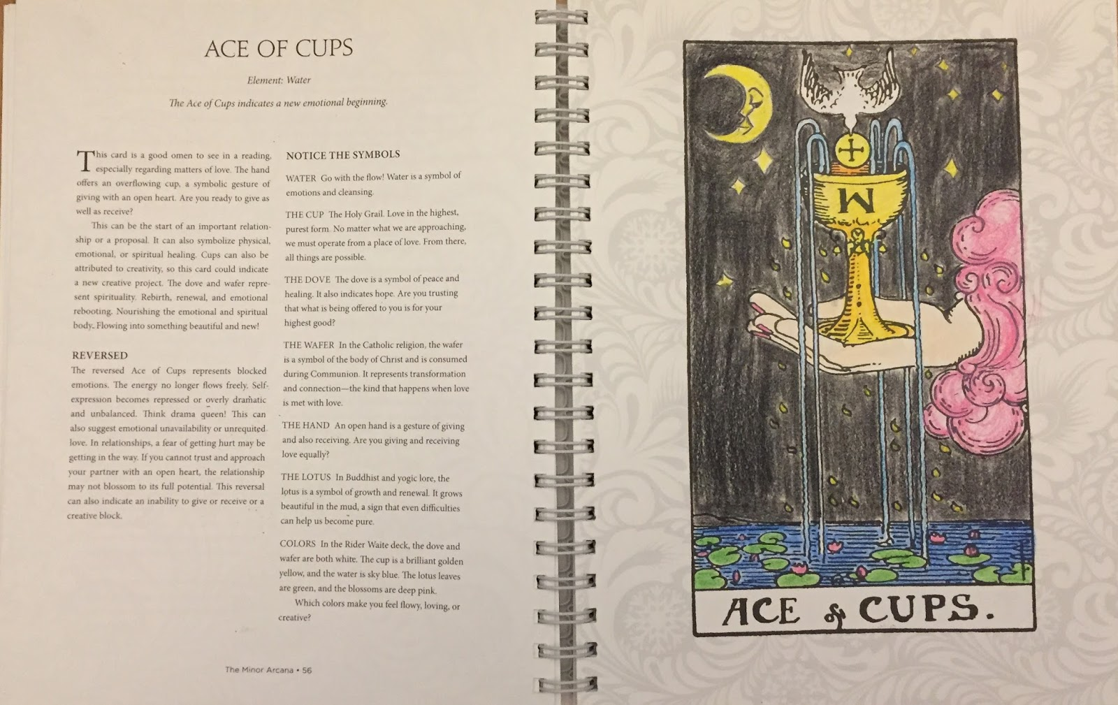 Review Of The Tarot Colouring Book