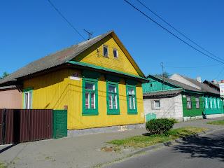 Пінськ. Вул. Комсомольська. Житловий будинок