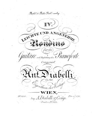 Anton Diabelli op. 140