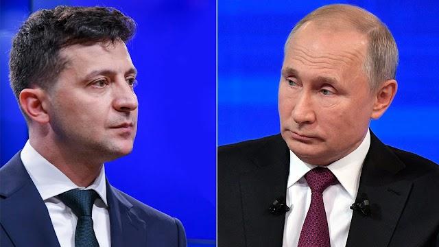 Володимир Зеленський провів телефонну розмову з Володимиром Путіним