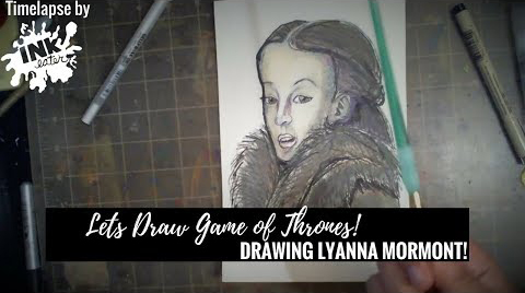 Lets Draw Lyanna Mormont from Game of Thrones