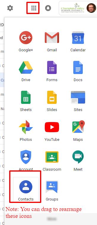 CVU Tech Support: New Google Contacts